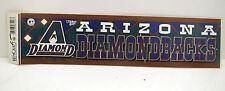 iNaugural Arizona Diamondback Bumpersticker Strip Mlb