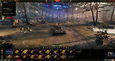 EU PC World of Tanks Acc 16 Prem 4k gold 21m Silv 350k Free exp + more,6k Battle