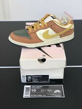 Nike Dunk Low SB Vapour Mineral Yellow Size 10 304292 271 Nike SB Vapors Curry