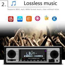 Retro Auto Bluetooth Radio MP3-Player Stereo USB / AUX Klassische Stereo-Au V1M0