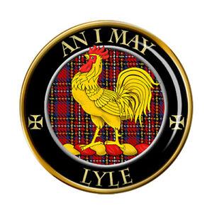 Lyle Clan Scozzese Spilla