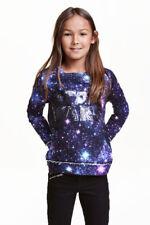 "H&M - Sweat ""STAR WARS""  - bleu  - Taille 10-12 ans"