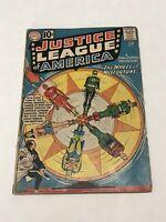 Justice League of America #6 DC Comic Book Silver Age Wheel Of Misfortune
