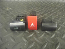 2006 KIA PICANTO 1.1 5DR HAZARD WARNING HEATED REAR WINDSCREEN BLANKING SWITCH