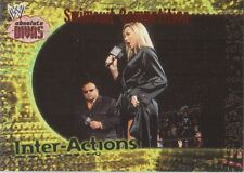 STACY KEIBLER 2002 Fleer WWE INTER-ACTIONS Insert #1IA SWIMSUIT COMPETITION