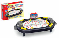ICE HOCKEY MINI TABLE TOP KIDS TOY GAME FUN SET DESKTOP LIGHTWEIGHT AND PORTABLE