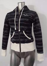 Oakley women's zip-up hoodie gray & black S