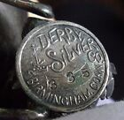 Victorian Silver Plated Figural Napkin Ring, Derby Silver Co. Best Wishes, Chick