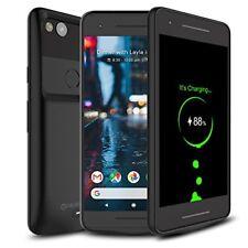 Google Pixel 2 Battery Case External 4700mAh Rechargeable Charging Case Black