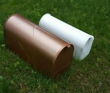 """2 SOLAR GROUP 19"""" & 22"""" METAL RURAL US Mailboxes (hxx)"""