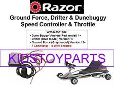 Razor Gray Grey Ground Force V13+ Go Cart Controller Throttle Kit (7 Conn)