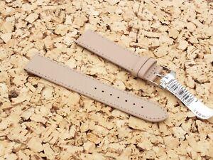 Morellato Genuine Leather Quick Release Watch Strap 20mm Buff