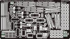 Alliance Model Works 1:700 Service Crane Set 1 #NW70007