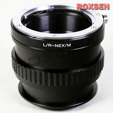Leica R L/R lens to Sony E mount adapter Macro Focusing Helicoid NEX A5100 A6000