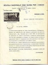 V884-CANI DA GUARDIA PER CIECHI 1955