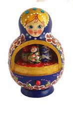 Boite à musique- Poupée russe - Fait Main -Matriochka -Cadeau Souvenir Russe