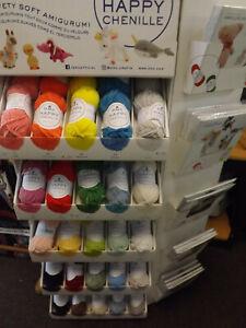 DMC HAPPY YARN AMIGURUMI - CHENILLE Yarn for knit or crochet