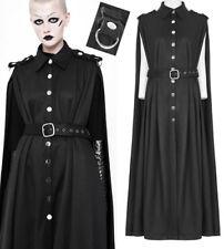 Cape manteau long gothique lolita burlesque militaire boutons ceinture Punkrave