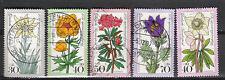 0237-ALEMANIA 2 COMPLETAS 1975 FLORES Nº716/9+723.6,20€