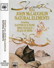 SHAKTI WITH JOHN MCLAUGHLIN NATURAL ELEMENTS CASSETTE ALBUM JAZZ FUSION