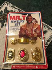 Mr. T A-Team Jewelry Set Sealed! 1980s