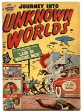 Journey Into Unknown Worlds #38 Flying Saucer 3rd issue 1950