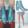 Gorman High Tide Metallic Leather Ankle Boots size 36 6