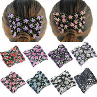 1pcs Easy Magic Beads Double Slide Hair Comb Elastic Clip Hair Accessories