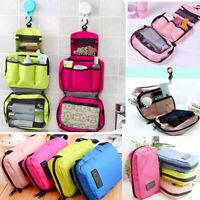 Hanging Toiletry Bag Folding Makeup Organizer Cosmetic Storage Travel Kit Unisex