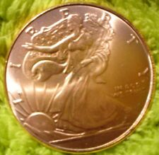 1 OZ GOLDEN STATE MINT 1 OZ COPPER COIN TOKEN EAGLE / LIBERTY IN GOD WE TRUST