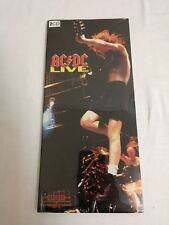 AC/DC LIVE SPECIAL COLLECTOR'S EDITION LONG BOX 2-CDs  BRAND NEW SEALED