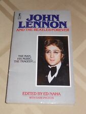 """John Lennon and The Beatles Forever"" pb Book w/Rare Photos 1st Edition"