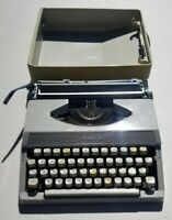VINTAGE ROYAL MERCURY PORTABLE  TYPEWRITER WITH CASE- MADE IN JAPAN