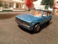 MATCHBOX   BMW 323i CABRIOLET, METALLIC BLUE   1:64 SCALE DIE-CAST  5-14-14