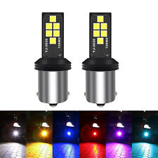 G4 AUTOMOTIVE 2x 1156 LED Bulb Upgraded 3030 SMD Colorful Turn Signal Tail Light