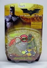 Batman Begins Skull Strike Scarecrow Green Variant Mattel NIP 2005 S203-11-12