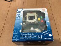 Sega DreamCast Controller HKT-7700 Clear Color JAPAN DC with BOX