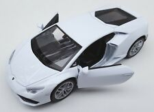 BLITZ VERSAND Lamborghini Huracan LP 610-4 weiss Welly Modell Auto 1:34 NEU OVP