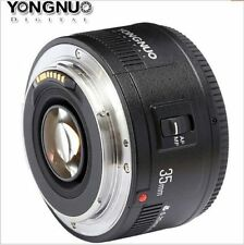 YONGNUO YN35mm F/2 Lens Wide-angle Large Aperture Fixed Auto Focus Lens Canon