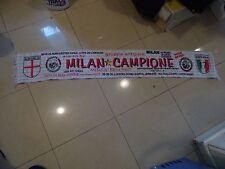 echarpe Football Milan Campione Brigate Rossonere scarf sciarpa