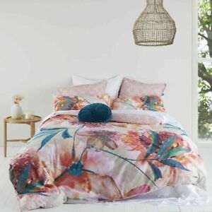 Logan and Mason Chelsea Quilt Cover Set Bloom