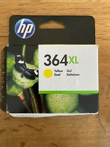 Genuine HP 364 XL Yellow Colour Ink Cartridge - CB325EE - In Date - VAT Inc