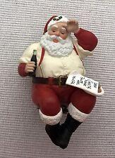 PLEASE PAUSE HERE Hallmark Keepsake COCA-COLA SANTA clip on ornament QX529-1