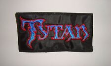 TYTAN -  LOGO Embroidered PATCH Demon Satan Tokyo Blade Witchfynde Vardis Lion