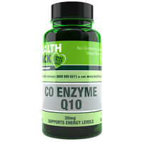 Co Enzyme Q10 Supplement 30mg | 100 Capsules | Increase Energy Levels