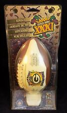 GREEN BAY PACKERS MINIATURE FOOTBALL SUPER BOWL XXXI NEW SEALED Packers Patriots