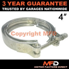 """V-BAND OUTER CLAMP STAINLESS STEEL EXHAUST TURBO HOSE RADIATOR 4"""" 102mm"""