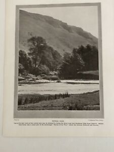 Old Photo 1924: Chatsworth House The Music Room Monsal Dale 96 Years Print