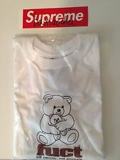 FUCT SSDD SS17 OG Bear Tee White Medium M Brand NEW