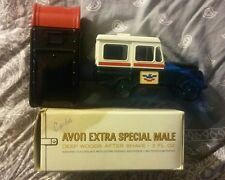 Vintage Avon Bottles Usps Postal Mailbox and Vehicle Collectables